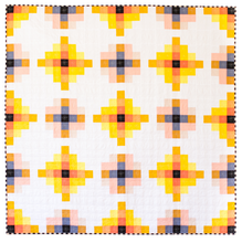 Load image into Gallery viewer, Granny Cabin Quilt Pattern by Meghan Buchanan of Then Came June