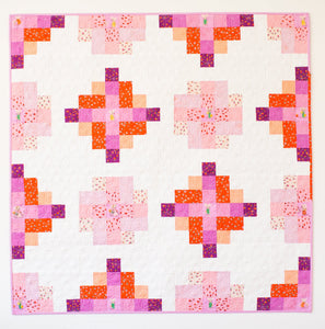 Granny Cabin Quilt Pattern by Meghan Buchanan of Then Came June