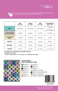 Hopscotch 2 Quilt Pattern by Emily Dennis of Quilty Love