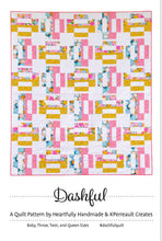 Load image into Gallery viewer, Dashful Quilt Pattern by Heartfully Handmade and KPerreault Creates