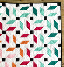 Load image into Gallery viewer, Propeller Quilt Kit Large Throw by Mandi Persell of Sewcial Stitch