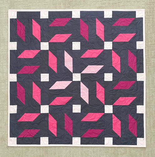 Propeller Wallhanging Quilt Kit by Mandi Persell of Sewcial Stitch
