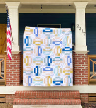 Load image into Gallery viewer, Dashful Modern Quilt Kit with Oasis Fabrics