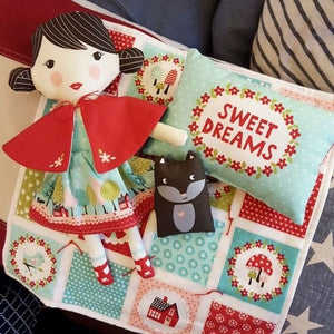 Lil Red Doll Panel by Stacy Iest Hsu for Moda Fabrics