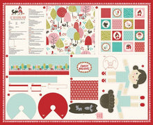 Load image into Gallery viewer, Lil Red Doll Panel by Stacy Iest Hsu for Moda Fabrics