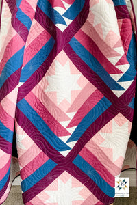 Mountain Valley Quilt Pattern by Running Stitch Quilts