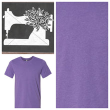 Load image into Gallery viewer, Sewing Machine Tee Shirt Heather Purple