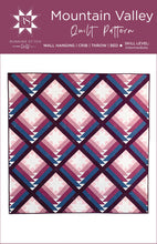 Load image into Gallery viewer, Mountain Valley Quilt Pattern by Running Stitch Quilts