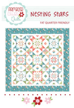Load image into Gallery viewer, Nesting Stars Quilt Pattern by Lindsey Weight for Primrose Cottage Quilts