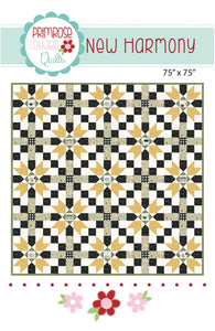 New Harmony Quilt Pattern by Lindsey Weight for Primrose Cottage Quilts