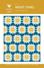 Load image into Gallery viewer, Night Stars Quilt Pattern by Emily Dennis of Quilty Love