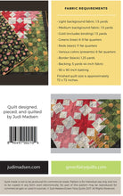Load image into Gallery viewer, Patchwork Christmas Quilt Pattern by Judi Madsen