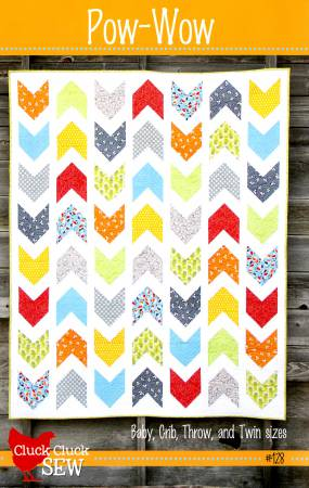 Pow Wow Quilt Pattern by Alison Harris for Cluck Cluck Sew