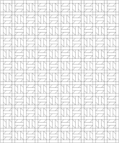 Propeller Quilt Pattern Coloring Page FREE PDF download