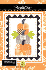 Pumpkin Trio Quilt Pattern by Fig Tree and Co