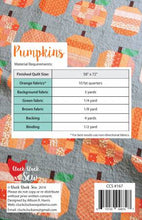 Load image into Gallery viewer, Pumpkin Quilt Pattern by Alison Harris for Cluck Cluck Sew