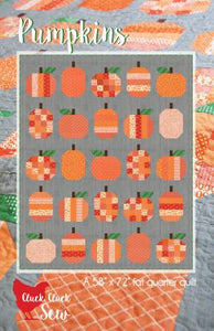 Pumpkin Quilt Pattern by Alison Harris for Cluck Cluck Sew