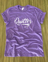 Load image into Gallery viewer, Quilter Tee Shirt Heather Purple