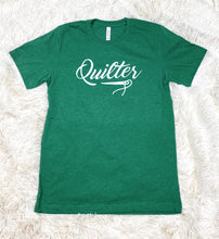 Load image into Gallery viewer, Quilter Tee Shirt Heather Green