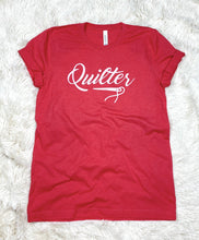 Load image into Gallery viewer, Quilter Tee Shirt Heather Red