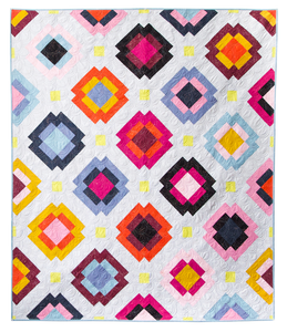 Radiate Quilt Pattern by Meghan Buchanan of Then Came June