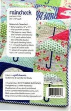 Load image into Gallery viewer, Raincheck Quilt Pattern by Thimble Blossoms