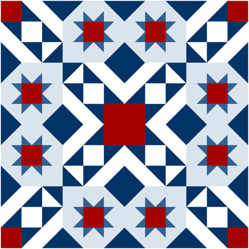 Sevres Modern Quilt Kit Pattern by This Mountain Life