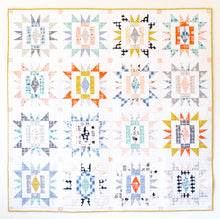 Load image into Gallery viewer, Sienna Burst Quilt Pattern by Meghan Buchanan of Then Came June