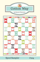 Load image into Gallery viewer, Spool Sampler Quilt Pattern by Cotton Way