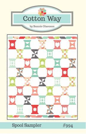Spool Sampler Quilt Pattern by Cotton Way