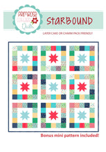 Load image into Gallery viewer, Starbound Quilt Pattern by Lindsey Weight for Primrose Cottage Quilts