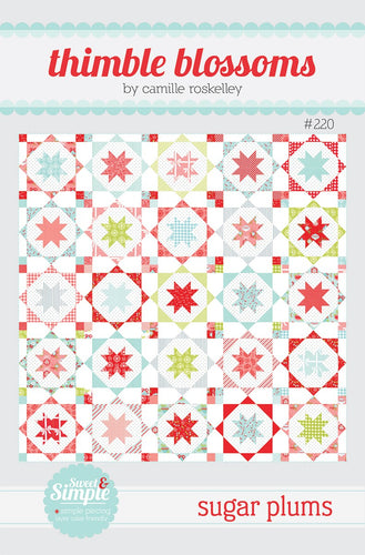 Sugar Plum Quilt Pattern by Thimble Blossoms