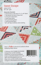 Load image into Gallery viewer, Sweet Escape  Quilt Pattern by Thimble Blossoms