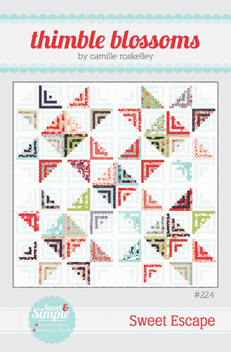 Sweet Escape  Quilt Pattern by Thimble Blossoms