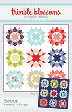 Load image into Gallery viewer, Swoon Quilt Pattern by Thimble Blossoms