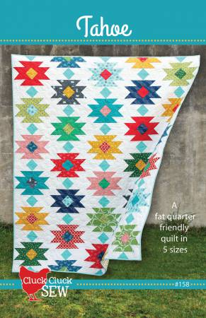 Tahoe Quilt Pattern by Alison Harris for Cluck Cluck Sew