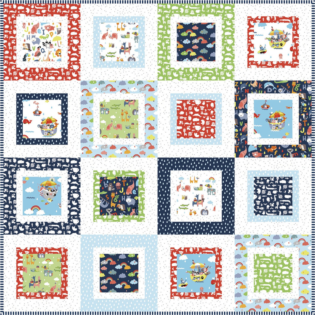 The Flip Side Quilt Pattern by Lindsey Weight for Primrose Cottage Quilts