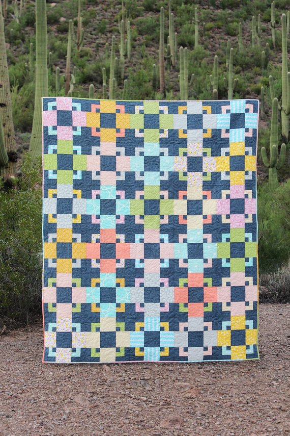 Trixie Quilt Pattern by Hello Melly Designs