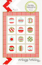 Load image into Gallery viewer, Vintage Holiday Quilt Pattern by Thimble Blossoms