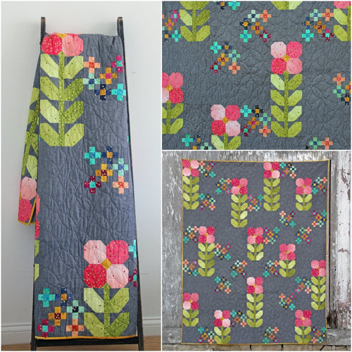 Walk In The Park Ombre Quilt Pattern by Vanessa Christenson of V and Co