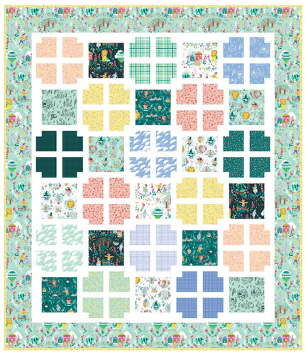 Window Pane Quilt Pattern by Lindsey Weight for Primrose Cottage Quilts