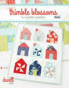 Dwell Mini Quilt Pattern by Thimble Blossoms