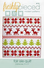 Load image into Gallery viewer, Fair Isle Quilt Pattern by Freshly Pieced