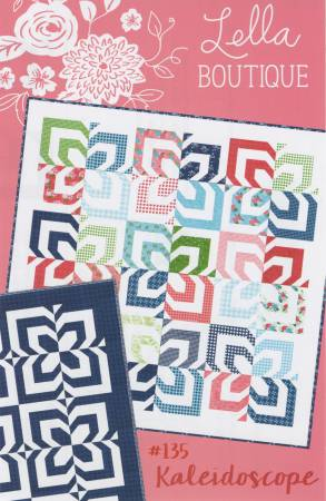 Kaleidoscope Quilt Pattern by Lella Boutique