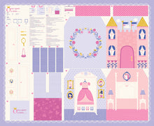 Load image into Gallery viewer, Once Upon A Time Princess Dolls and Castle Playbook Panel set by Stacy Iest Hsu for Moda Fabrics