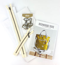 Load image into Gallery viewer, Redwood Tote Crossbody Bag Kit by Noodlehead