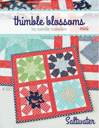 Saltwater Mini Quilt Pattern by Thimble Blossoms
