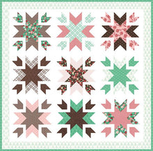 Load image into Gallery viewer, Snow Blossoms Quilt Pattern by Lella Boutique
