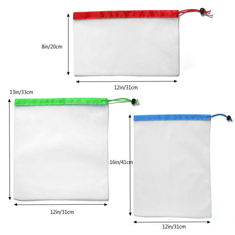 Waste Free Reusable Bags (12PCS)