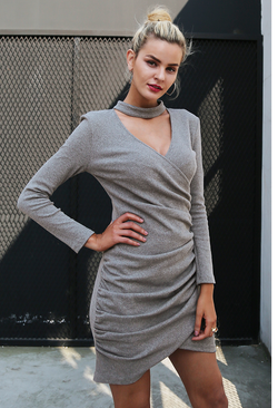 Halter V Neck Sweater